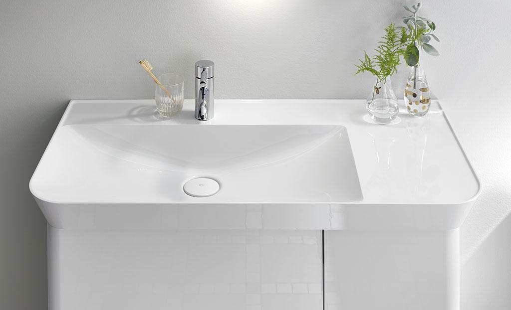 Meubles de salle de bain s rie iveo burgbad for Meuble de salle de bain burgbad